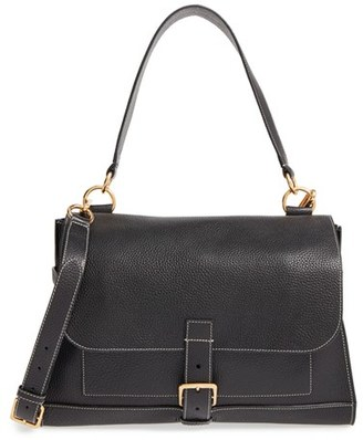 Mulberry 'Small Buckle' Leather Shoulder Bag - Black $1,395 thestylecure.com
