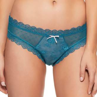 Women's Perfects Australia Bre Lace and Mesh Bikini Panty 14UBK317