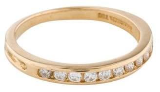 Tiffany & Co. 18K Diamond Wedding Band