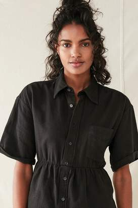 Urban Renewal Vintage Recycled Button-Down Babydoll Tunic