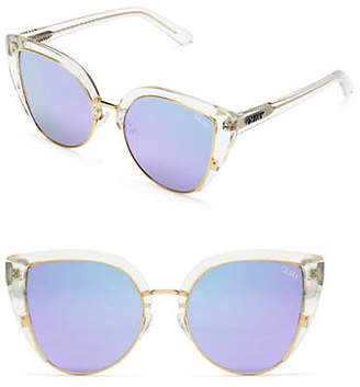 Quay 55mm Butterfly Sunglasses