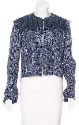 Sonia Rykiel Linen-Blend Tweed Jacket