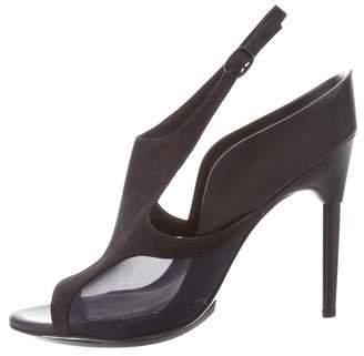 3.1 Phillip Lim Nubuck Ankle Strap Sandals