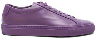 Common Projects Leather Original Low Achilles Sneakers