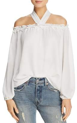 Sadie & Sage Off-the-Shoulder Halter Top - 100% Exclusive