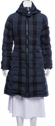 Burberry Printed Quilted Coat