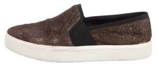 Vince Platform Slip-On Sneakers