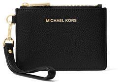 MICHAEL Michael Kors Mercer Small Coin Purse, Black