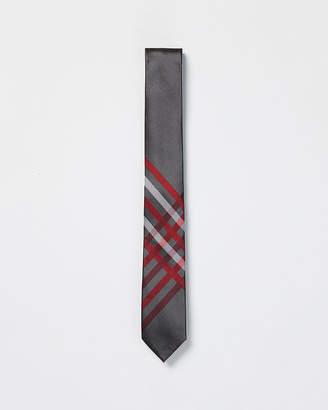 Express Slim Print Silk Tie