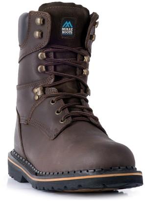 Mcrae Industrial McRae Industrial Men's Slip-Resistant Steel-Toe Work Boots