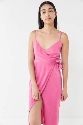 Urban Outfitters Quinn Wrap Midi Dress