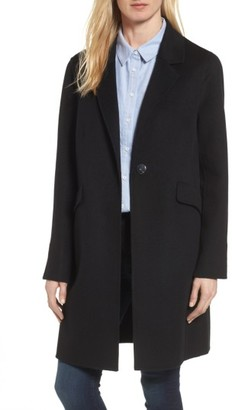 Women's Diane Von Furstenberg Double Face Wool Blend Walker $498 thestylecure.com