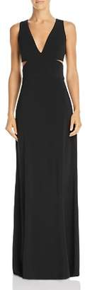 Laundry by Shelli Segal Sleeveless Cutout Gown