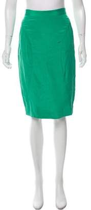 Rebecca Minkoff Silk Sheath Skirt