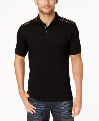 INC International Concepts I.n.c. Men's Studded Polo, Created for Macy's