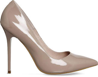Office Onto patent-leather courts