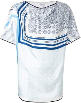 Loewe anagram blouse