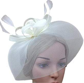 Yiweir Women Wedding Bride Accessory Fascinators Headbands Party Cocktail