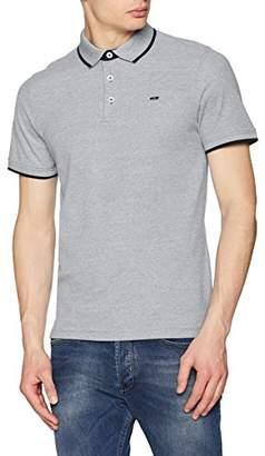 Jack and Jones Men's Jjepaulos Polo Ss Noos Shirt, (Brick Red Detail: Slim Fit)