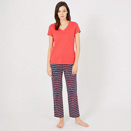 Triple Stripe Pajama Set