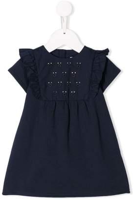 Chloé Kids embroidered short dress