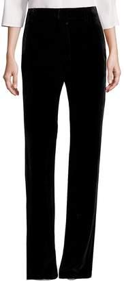 Vince Women's Velvet Wide-Leg Pants