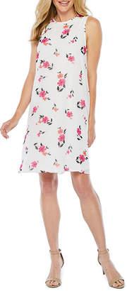 Studio 1 Sleeveless Floral Swing Dresses