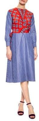 Sandro Isadora Striped Dress