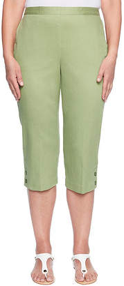 Alfred Dunner Parrot Cay High Rise Capris