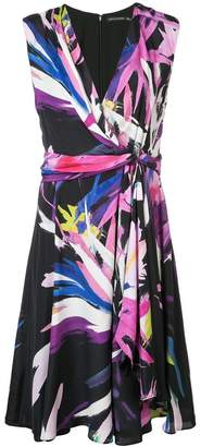 Josie Natori printed midi dress