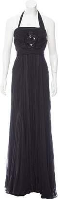 J. Mendel Embellished Evening Gown