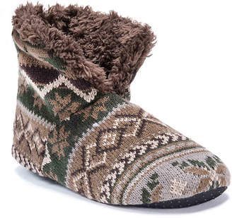 Muk Luks Bootie Slipper - Men's