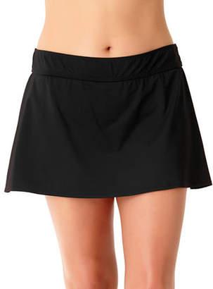 Anne Cole Plus Classic Swim Skirt