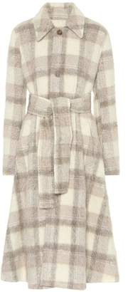 Acne Studios Wool-blend checked coat