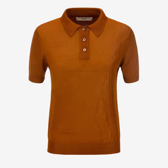 Bally VISCOSE KNIT POLO SHIRT