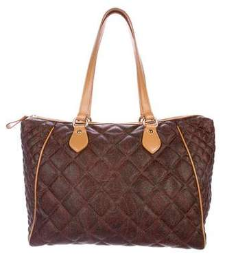 Etro Quilted Paisley Tote