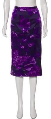 Dolce & Gabbana Printed Knee-Length Skirt