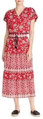 Lauren Ralph Lauren Floral Cotton Blouson Dress