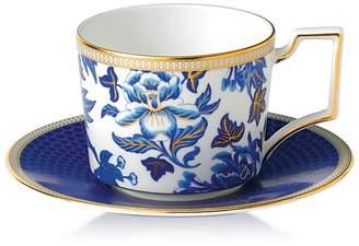 Wedgwood Hibiscus Teacup & Saucer