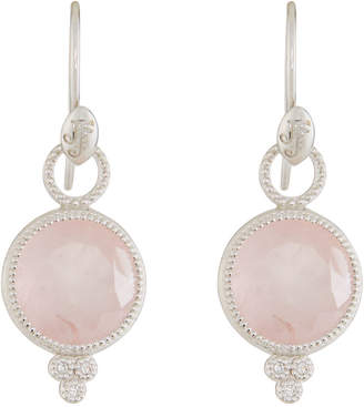 Jude Frances 18K Provence Round Drop Earrings