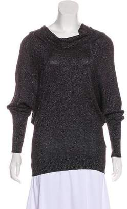 Les Copains Silk Metallic Sweater