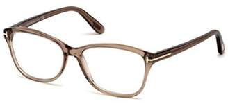 Tom Ford FT 5404, Geometric, acetate, women, TRANSPARENT BROWN(048 A),/15/140