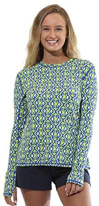 All For Color Women's Crew Neck Sun Protective Top