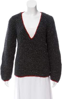 Prada Sport Interlock Knit Sweater