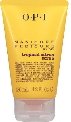 OPI Manicure/Pedicure by Tropical Citrus Scrub
