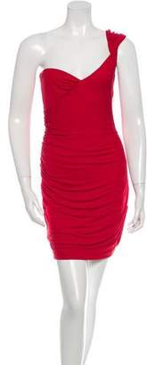 DSQUARED2 One-Shoulder Mini Dress