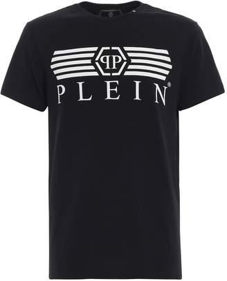 Philipp Plein T-shirt Platinum Cut Round Neck alone