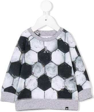 Molo football print sweatshirt