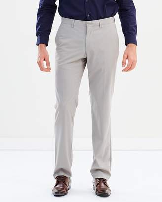 Cerruti Padded Waistband Virgin Wool Dress Pants