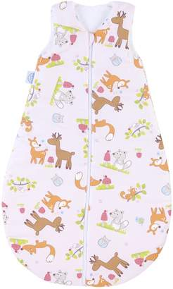 Zöllner Julius Julius Summer Sleeping Bag 709040715072Pink-Woodland Animals